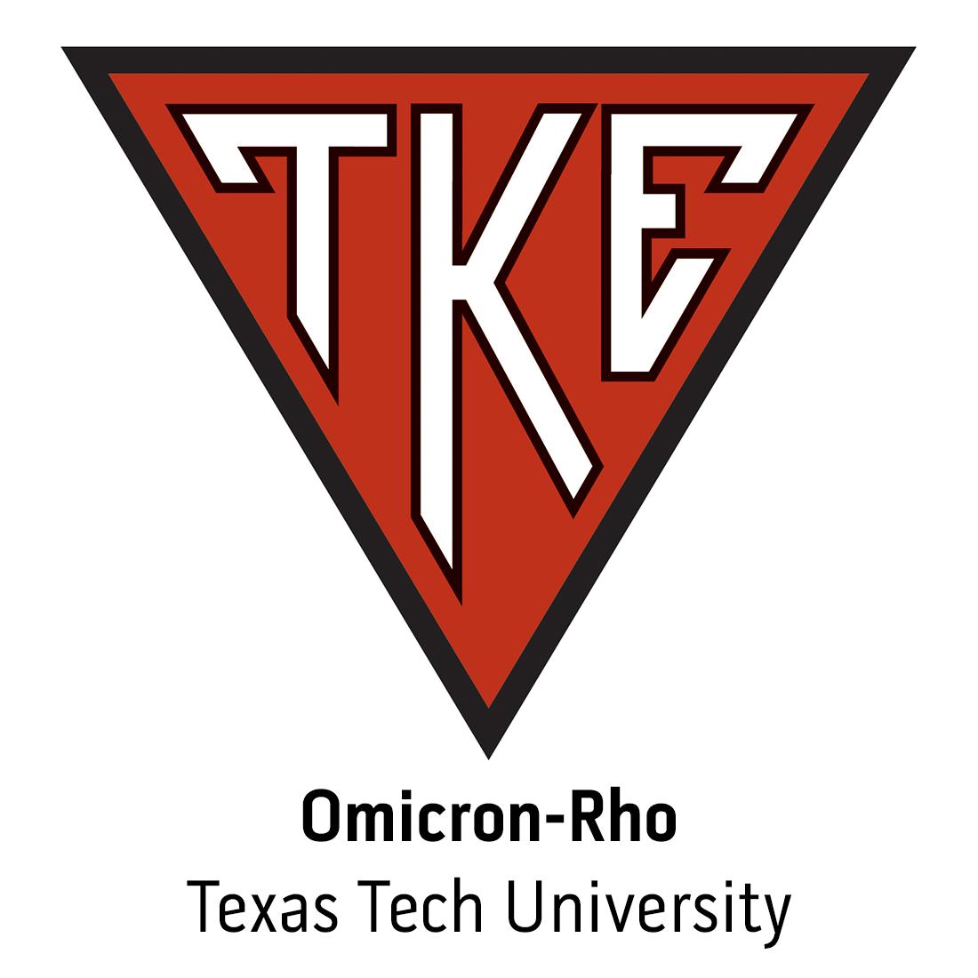Omicron Rho At Texas Tech University Tke