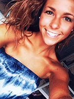 Lauren Alexander representing Kappa-Kappa