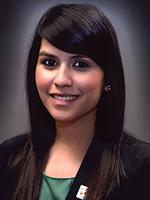 Victoria Velasquez representing Kappa-Beta