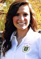 Jessica Marie Gilkerson representing Pi-Omicron